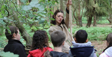 School education bushcraft archaeology days